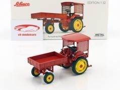 Fortschritt RS09-GT 124 tracteur Pick-Up rouge 1:32 Schuco