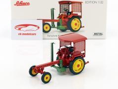 Fortschritt RS09-GT 124 Traktor mit Mähbalken rot 1:32 Schuco