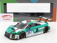 Audi R8 LMS #29 vincitore 24h Nürburgring 2017 Audi Sport Team Land 1:18 Paragon Models