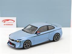 BMW 2002 Hommage Collection isblå metallisk 1:18 Norev