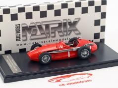 Maserati 250F #1 gagnant Goodwood Glover Trophy 1956 Stirling mousse 1:43 Matrix