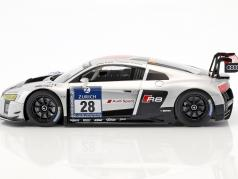 Audi R8 LMS Ultra #28 gagnant 24h Nürburgring 2015 Audi Sport Team WRT 1:18 Paragon Models