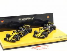 Hülkenberg #27 & Sainz #55 2-Car Set Renault R.S.18 Formel 1 2018 1:43 Minichamps