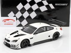 BMW M6 GT3 Plain Body Edition 2016 blanc 1:18 Minichamps