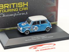 Alec Poole Austin Mini Cooper S #261 BTCC Champion 1969 1:43 Atlas