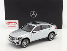 Mercedes-Benz GLC Coupe (C253) Year 2016 diamond silver 1:18 iScale