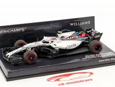 R. Kubica Williams FW41 #40 uddannelse Spanien GP formel 1 2018 1:43 Minichamps