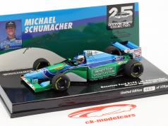 Michael Schumacher Benetton B194 #5 winnaar Monaco GP formule 1 1994 1:43 Minichamps