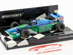 J.J. Lehto Benetton B194 #6 Mónaco GP fórmula 1 1:43 Minichamps