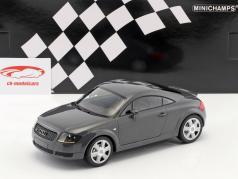 Audi TT Coupe ano de construção 1998 cinza metálico 1:18 Minichamps
