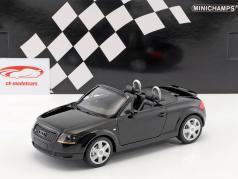 Audi TT Roadster Bouwjaar 1999 zwart 1:18 Minichamps