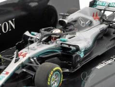 Lewis Hamilton Mercedes-AMG F1 W09 EQ Power  #44 World Champion Formel 1 2018 1:43 Minichamps