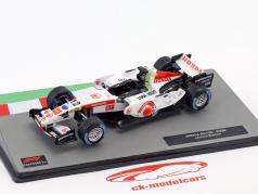 Jenson Button Honda RA106 #12 formule 1 2006 1:43 Altaya