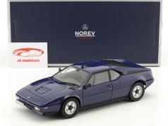 BMW M1 année de construction 1980 sombre bleu 1:18 Norev