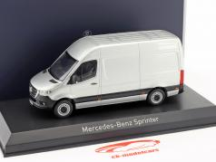 Mercedes-Benz Sprinter Kastenwagen Baujahr 2018 silber 1:43 Norev