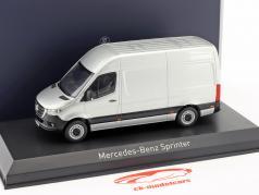 Mercedes-Benz Sprinter van year 2018 silver 1:43 Norev