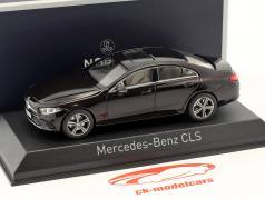 Mercedes-Benz CLS-Classe ano de construção 2018 rubi vermelho metálico 1:43 Norev