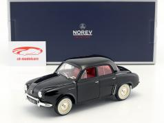 Renault Dauphine ano de construção 1958 preto 1:18 Norev