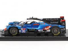 Alpine A470 #36 Winner LMP2 Class 24h Le Mans 2018 Lapierre, Negrao, Thiriet 1:43 Spark