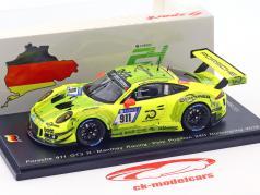 Porsche 911 GT3 R #911 Manthey Pole Position 24h Nürburgring 2018 1:43 Spark