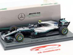 Valtteri Bottas Mercedes-AMG F1 W09 EQ Power  #77 2nd Chinese GP Formel 1 2018 1:43 Spark