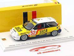 Honda Civic EF3 #52 1st GroupN Div. 2 24h Spa-Francorchamps 1989 Tillekaerts, Koentges 1:43 Spark