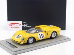 Ferrari 365 P2 #19 Test 24h Le Mans 1966 Dernier, Beurly's, Ickx 1:18 Tecnomodel