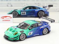 Porsche 911 (991) GT3 R #44 9th 24h Nürburgring 2018 Falken 1:18 Minichamps