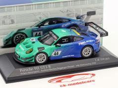 Porsche 911 GT3 R #44 9de 24h Nürburgring 2018 Falken Motorsports 1:43 Minichamps