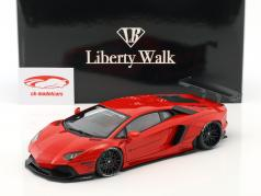 Lamborghini Aventador Liberty Walk LB-Works year 2015 red 1:18 AUTOart
