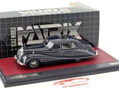 Daimler DK400 Stardust Lady Docker Hooper Baujahr 1954 dunkelblau / silber metallic 1:43 Matrix