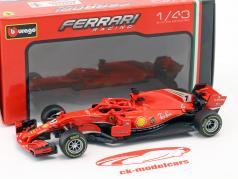 Kimi Räikkönen Ferrari SF71H #7 Formel 1 2018 in Blister 1:43 Bburago