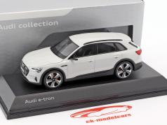 Audi e-tron Bouwjaar 2018 Glacier white 1:43 Spark