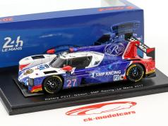 Dallara P217 #27 24h LeMans 2017 Aljoschin, Sirotkin, Schaitar 1:43 Spark