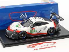 Porsche 911 RSR #93 24h LeMans 2018 Pilet, Tandy, Bamber 1:43 Spark