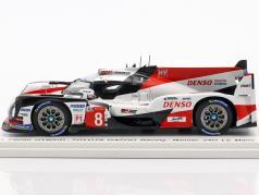 Toyota TS050 Hybrid #8 胜利者 24h LeMans 2018 Buemi, Nakajima, Alonso 1:43 Spark