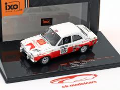 Ford Escort MK I RS 1600 #16 5 RAC Rallye 1971 Mäkinen, Liddon 1:43 Ixo
