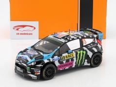 Ford Fiesta RS WRC #15 Rallye Catalonië 2014 Block, Gelsomino 1:18 Ixo