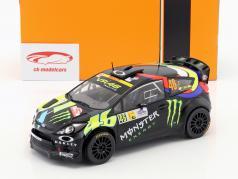 Ford Fiesta RS WRC #46 vencedor Monza Rallye Show 2012 Rossi, Cassina 1:18 Ixo