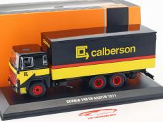 Scania 140 V8 LKW Calberson année de construction 1971 jaune / noir / rouge 1:43 Ixo