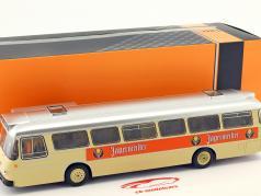 Büssing Senator 12D autobus Jägermeister crema / arancione 1:43 Ixo