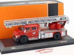 Mercedes-Benz L1519 fire department Kaufbeuren red / silver 1:43 Ixo