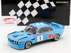 BMW 3.0 CSL #1 Winner 4h Monza 1974 Peltier, Lafosse 1:18 Minichamps