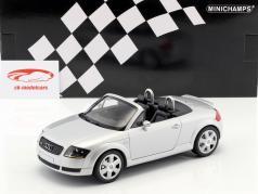 Audi TT Roadster year 1999 silver metallic 1:18 Minichamps