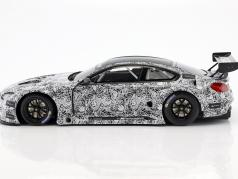 BMW M6 GT3 Presentation Car 24h Spa 2015 白 / 黑 1:18 Minichamps
