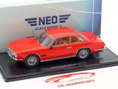 Maserati Mexico Baujahr 1967 rot 1:43 Neo