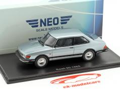 Saab 90 year 1985 light blue metallic 1:43 Neo