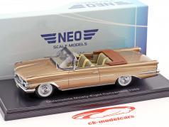 Oldsmobile 98 Convertible Baujahr 1959 dunkelbeige metallic 1:43 Neo