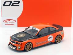 BMW 2002 Hommage Collection Turbomeister #2 orange / black 1:18 Norev