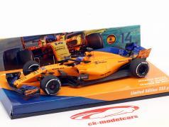 Fernando Alonso McLaren MCL33 #14 Spaans GP formule 1 2018 1:43 Minichamps